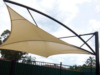Shade Sails Tension Structures Architectural Membrane