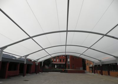 St Bedes Barrel Vault Shade Structure